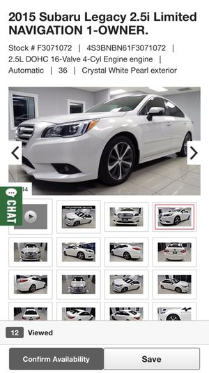 2015 Subaru legacy for Sale in Bellaire, TX
