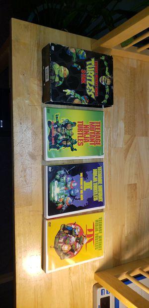 Original teenage mutant ninja turtles dvd's set for Sale in Mansfield, CT