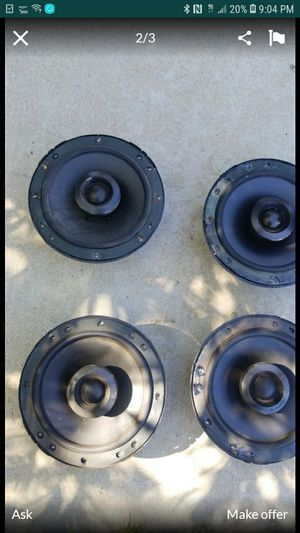 JL Audio Professional car speakers for Sale in Stockton, CA