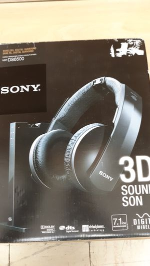 Sony MDR-DS6500 Wireless 7.1 CH Digital Surround Sound Headphones for Sale in Glendale, AZ