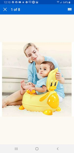 Potty Trainer Toilet Cushion Seat Chair Baby Kids Toddler Training Seat for Baby for Sale in Pico Rivera, CA