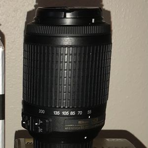 Nikon 55-200mm Lens for Sale in Vancouver, WA