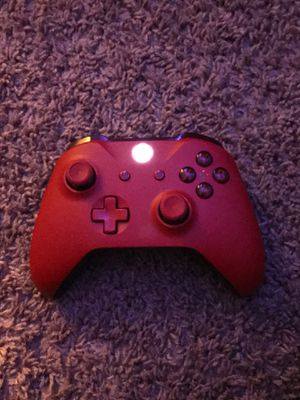 Reddish Xbox controller for Sale in Gilbert, AZ