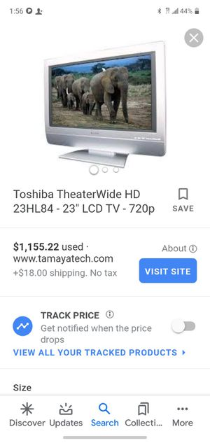 Toshiba theater wide HD 32in LCD TV 720P for Sale in Akron, OH