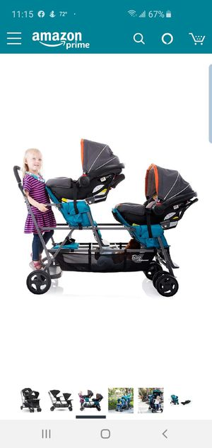 Joovy triple sit and stand stroller for Sale in Duluth, GA