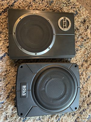 "8"" SSL SUBWOOFER/AMP & 8"" Boss 800 Watts for Sale in Los Gatos, CA"