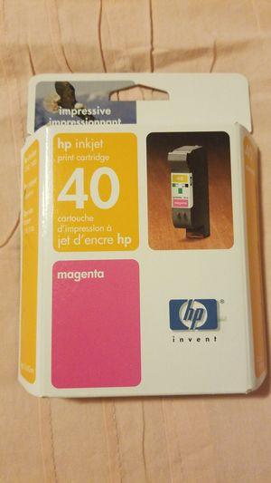 HP injkjet print cartridge 40 magenta for Sale in Brea, CA