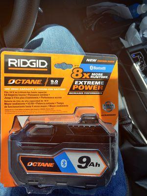 Ridgid octane battery kit for Sale in Edwardsville, IL