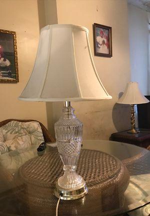 Crystal Chandelier Lamp for Sale in Trenton, NJ