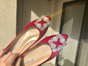 Fashionable red flats US Size 7 for Sale in Laveen Village, AZ
