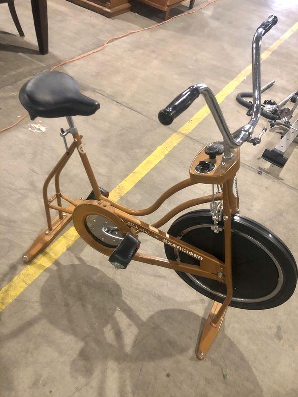 Schwinn exercise bike works well