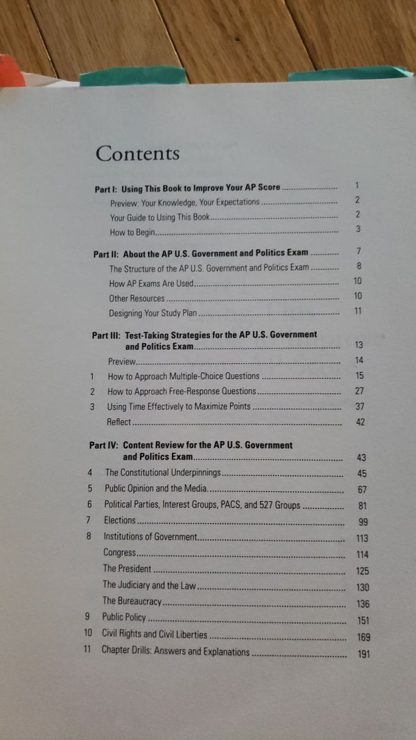 Princeton Review AP US Government & Politics