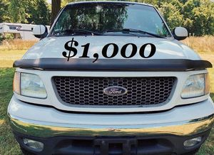 🎁✔$1,OOO✔️🎁 Up for sale 2OO2 Ford F-15O Clean title✔️🎁 for Sale in Arlington, VA