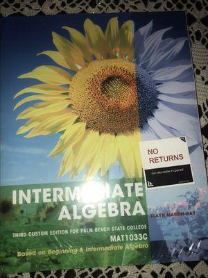 Intermediate Algebra MAT1033C for Sale in Lake Worth, FL