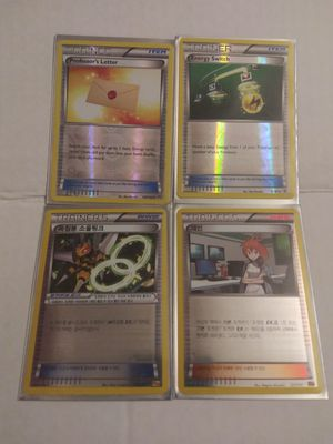 Pokemon Reverse Holo Trainers Lot of 4 for Sale in El Paso, TX