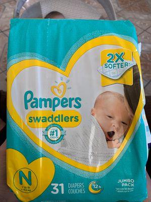 Diapers Newborn Size for Sale in Pomona, CA