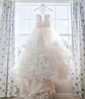 Mori lee designer wedding dress for Sale in Riverview, FL