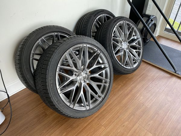 ZITO ZF01 Flow Form Wheels and Tires
