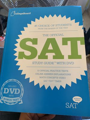 College Board SAT study guide for Sale in Rancho Cucamonga, CA