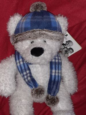 """New ● St Jude Children Hospital 20"""" LARGE FLUFFY BEAR stuffed animal for Sale in Manchester, NH"""