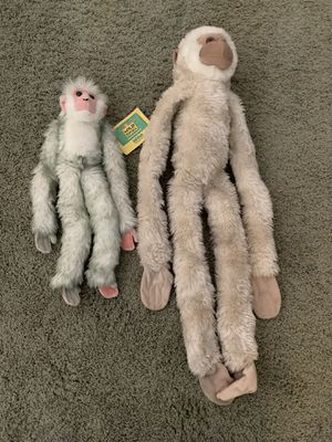 Stuffed monkey toys for Sale in Paramount, CA