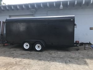 6 x 14 Enclosed Landscape Trailer for Sale in Hollywood, FL