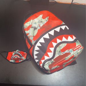 Spray ground Panic Attack Backpack for Sale in Indianapolis, IN
