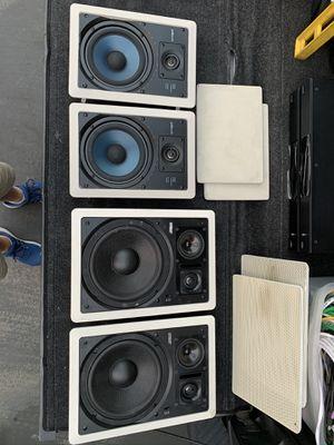 POLK AUDIO & EARTHQUAKE IN WALL-IN CEILING SPEAKERS for Sale in Long Beach, CA