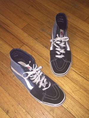 Vans Sk8-Hi Blue (size 10) for Sale in Chicago, IL