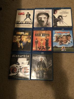 Older movies on blu ray for Sale in Anderson, SC