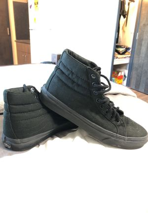 6.5 Women SK8 Hi Vans Black for Sale in San Diego, CA