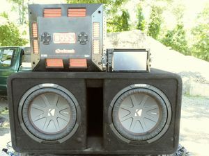 Complete car audio sytem for Sale in Hyattsville, MD