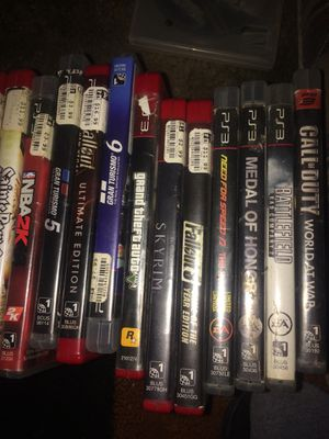 Ps3 games assorted for Sale in Evansville, IN