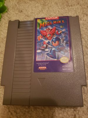 Nintedo - Mega Man 5 for Sale in Clarksburg, MD