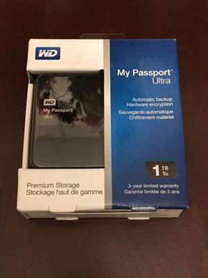 WD My Passport portable hard drive 1TB for Sale in San Diego, CA