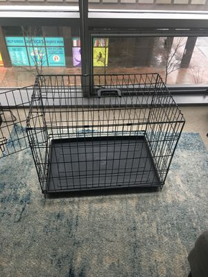 Dog Crate: 30L x 19W x 21H for Sale in Arlington, VA