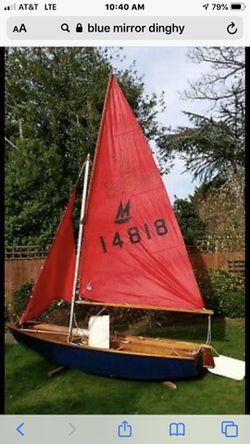 Mirror Dingy Sailboat Project for Sale in Gilbert,  AZ