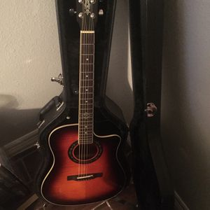 Fender Acoustic/Electric T-Bucket beautiful !!! for Sale in Houston, TX