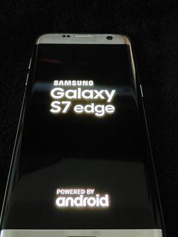 Unlocked Samsung Galaxy S7 Edge 32gb Silver Great Condition for Sale in Miami,  FL