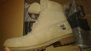 "Timberland Premium 6"" Boots Monochromatic Tan Sz. 10 New for Sale in San Francisco, CA"