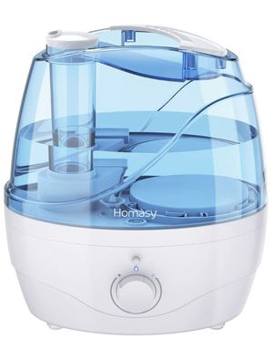 Brand new !!!Homasy 2.2L Quiet Ultrasonic Bedroom, Easy to Clean Air Humidifier with 360°Nozzle, Auto Shut-Off, Adjustable Mist Output, Blue for Sale in Anaheim, CA