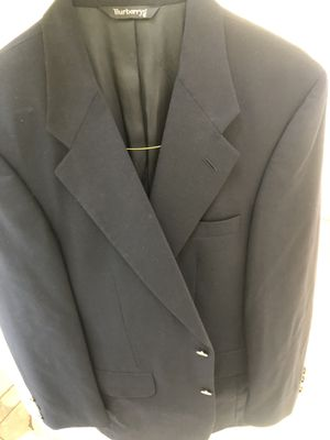 Burberry men's sz50/M,dark navy wool,gold buttons for Sale in Kent, WA