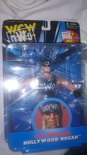 WCW NWO Clothesline Action Hollywood Hulk Hogan Wrestling Action Figure 1998 for Sale in Turlock, CA