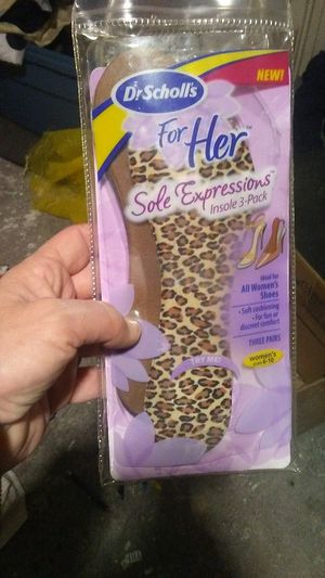 Dr scholls for her sole express insoles (only 2 pair in pack not 3) for Sale in Bonney Lake, WA