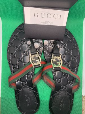 Gucci double G's slides for Sale in Houston, TX