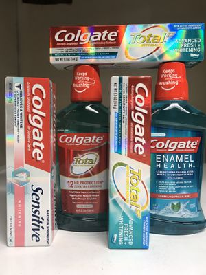 COLGATE MOUTHWASH TOOTHPASTE BUNDLE for Sale in Redondo Beach, CA