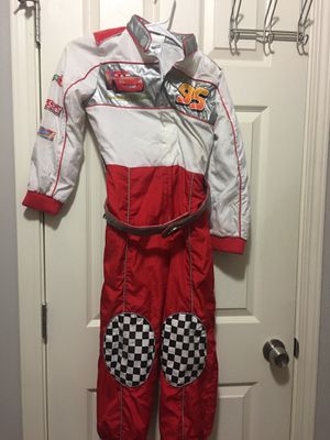 Disney Pixar Cars racecar driver costume size 7/8 for Sale in Orange, CA