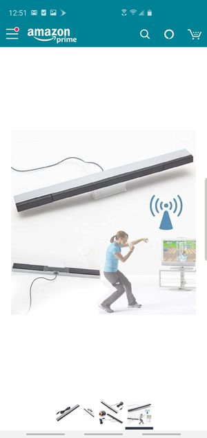 IR Ray Motion Sensor Bar for Nintendo Wii and Wii U Console for Sale in Ontario, CA