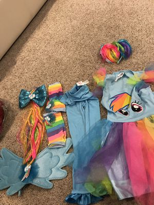 Rainbow dash costume for Sale in West Chester, PA