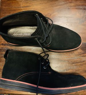 Men's Black Suede Chukka boot by Donald J Pliner for Sale in Dellwood, MN